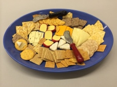 Big Blue Party Plate