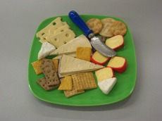 Green Rec Cheese Plate
