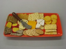 Red Rec Cheese Plate