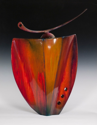 Steel Vessel in Cascade Magenta