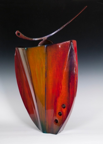 Steel Vessel in Cascade Magenta 2
